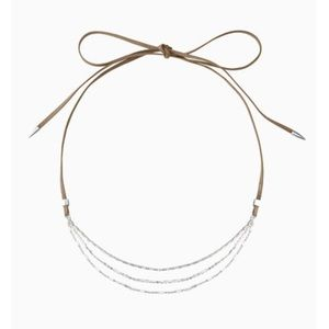 Stella & Dot Mina Draped Necklace
